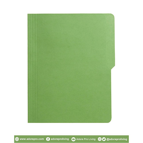 Colored Folder / 11 Pts / Letter / Green