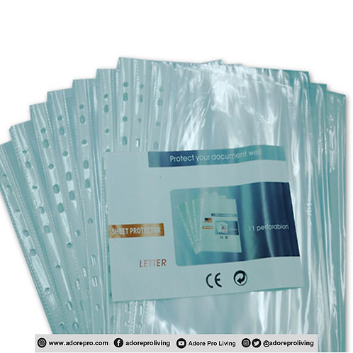 Clear Sheet Protector / A4 / 100's