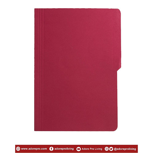 Colored Folder / 11 Pts / Legal / Red