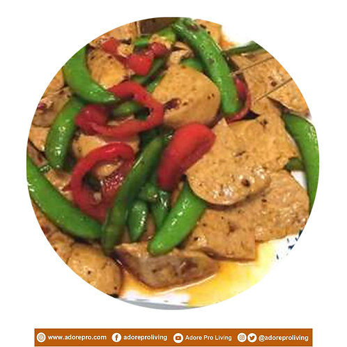 Spicy Tokwa with Green Beans