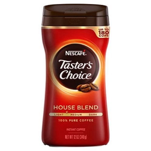 Nescafe Taster's Choice Instant Coffee - 12 oz