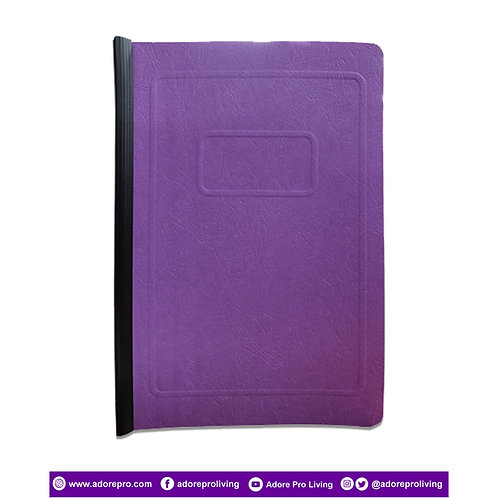 Morroco Folder with Slide / Long / Violet