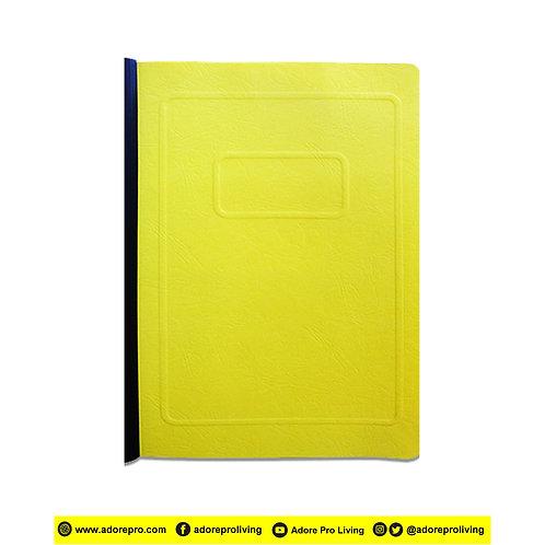 Morroco Folder with Slide / Short / Yellow