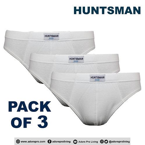 Men's 3-in-1 Cotton Briefs Design #HM021