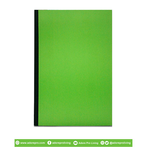 Pressboard Folder US / Long / Green