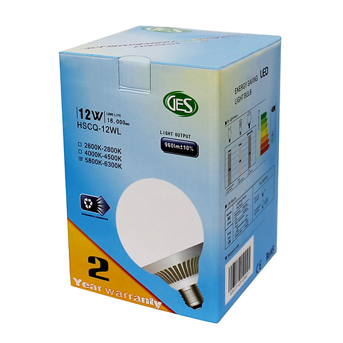 GES LED Residential Bulbs HSCQ - 12WL