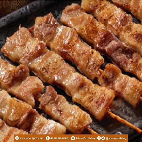 Frozen Japanese Pork Barbeque / 6 pcs per pack