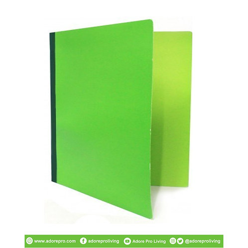 Pressboard Folder Local / Short / Green