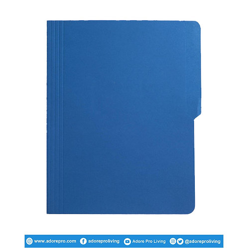 Colored Folder / 11 Pts / Letter / Blue