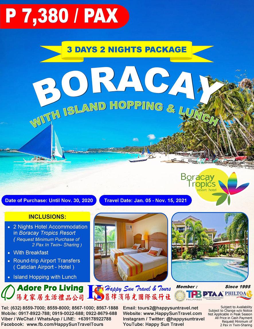 2.TropicsResort3D2N_BoracayPkgWithIsland