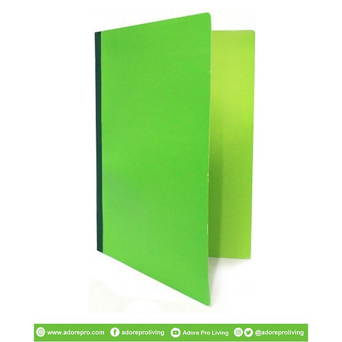 Pressboard Folder Local / Long / Green