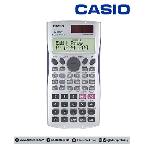 Casio Scientific Calculator FX-3650P 10 Digits