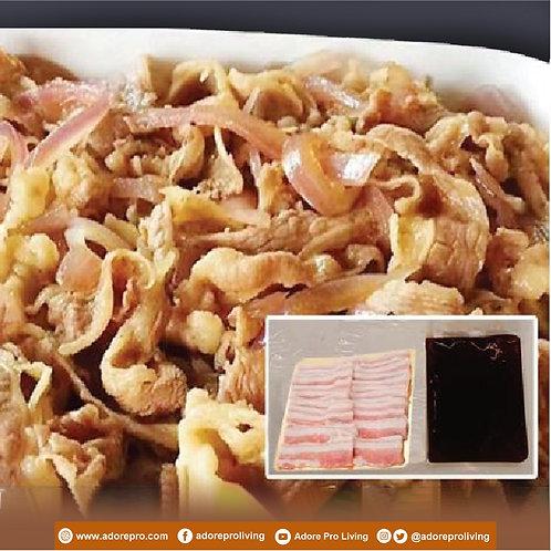 Frozen Pork Belly with Korean Sauce  / 300G