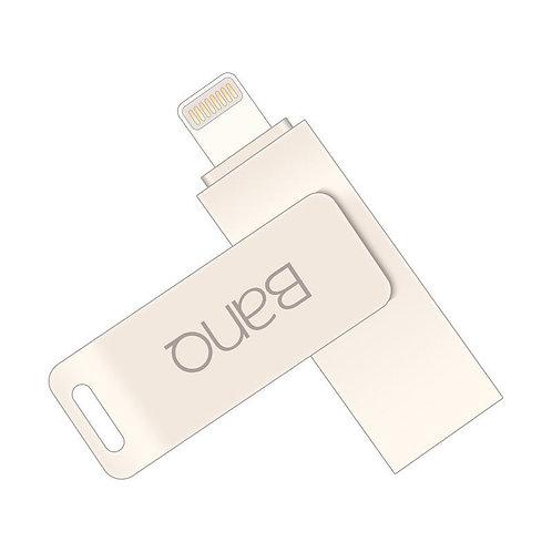 BanQ (A6S) 64GB Apple MFi Certified Lightning + USB Dual Flash Drive