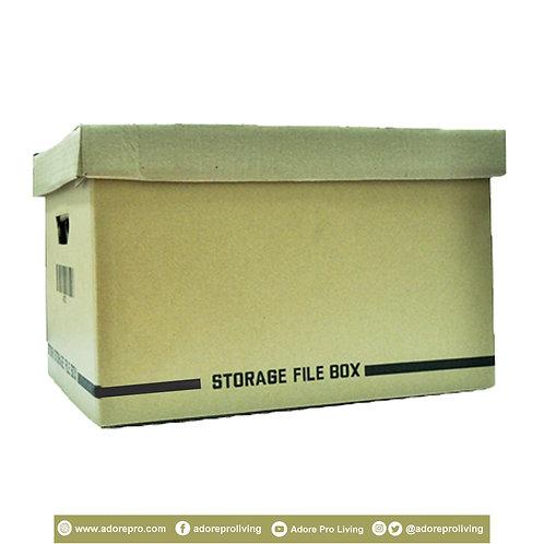 Storage File Box / 175LBS / 12 X 16 inches / Brown