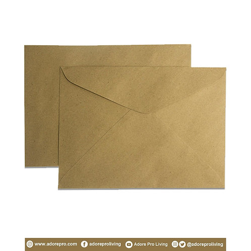 Document Envelope 150LBS Brown A4 / 10 pack