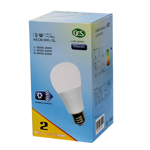 GES LED Residential Bulbs HECM - 9WL (Set of 3)