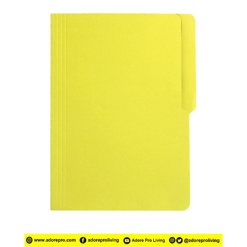 Colored Folder / 11 Pts / Legal / Yellow