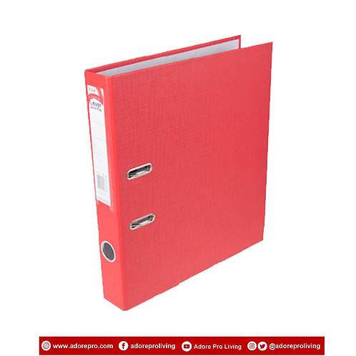 "Archfile / 9309EPP / A4 / 2""7 /  ECO Red"