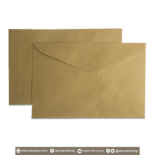 Document Envelope 150LBS Brown Legal / 10 pack