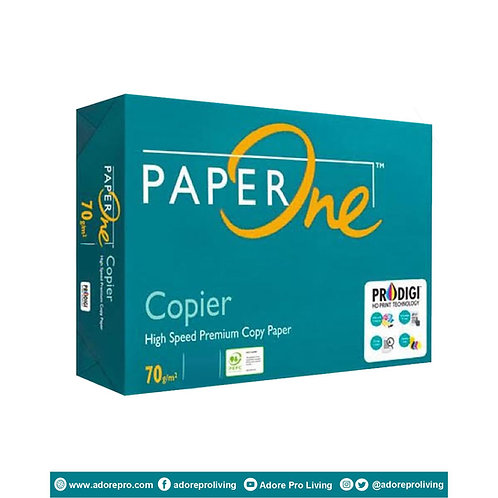 Paper One Copy Paper / 70 GSM / S-24 / A4 / White