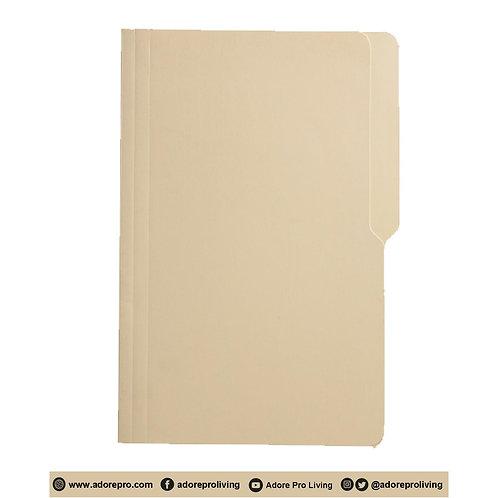 Light Yellow Folder: 14 Pts / 8-1/2 x 14 / Legal