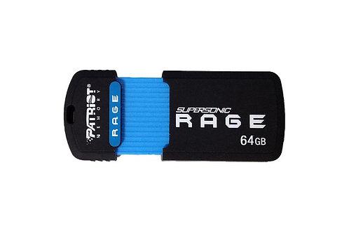 Patriot 64GB Supersonic Rage USB 3.0 Flash Drive
