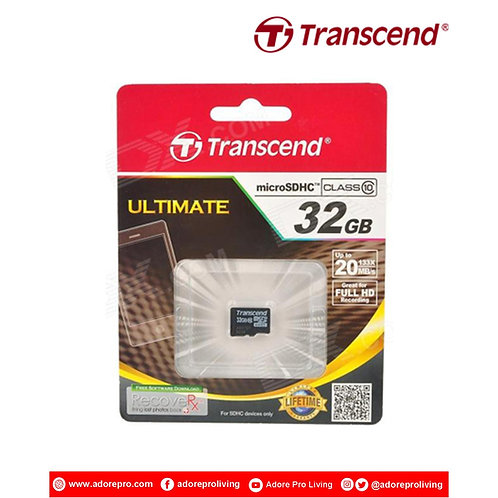 Transcend Micro SD Memory Card / Class 10 / 32GB