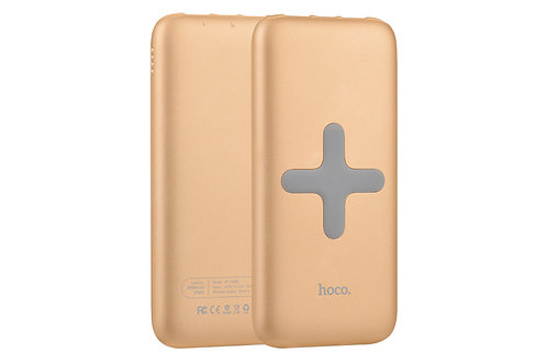 Hoco B11 Wireless Power Bank 8000mAh Dual-Out + Single Port-In