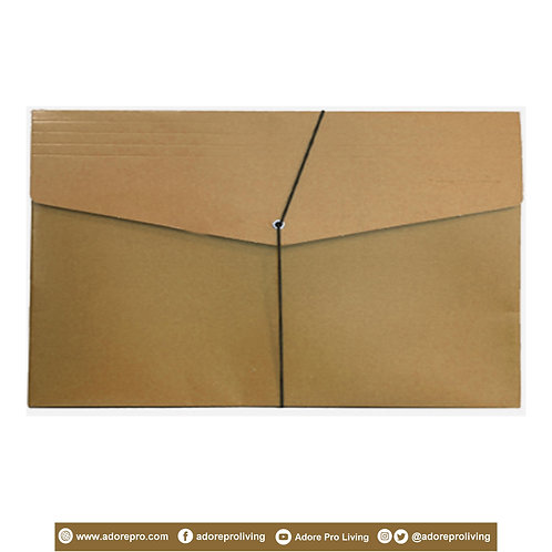 Envelope with Garter / Legal / Kraft