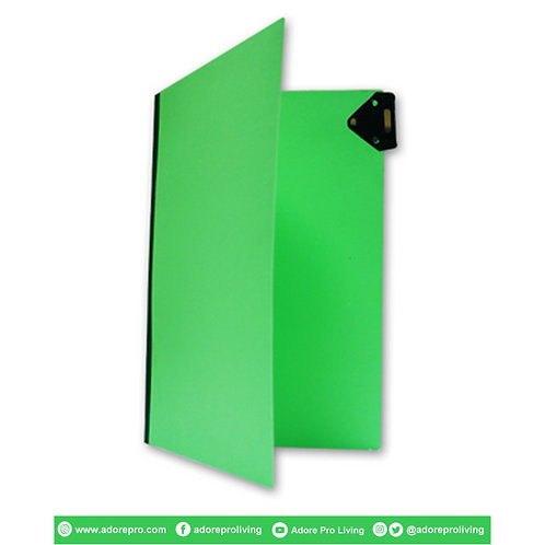 Pressboard Folder with Metal Clip US / Legal / Green