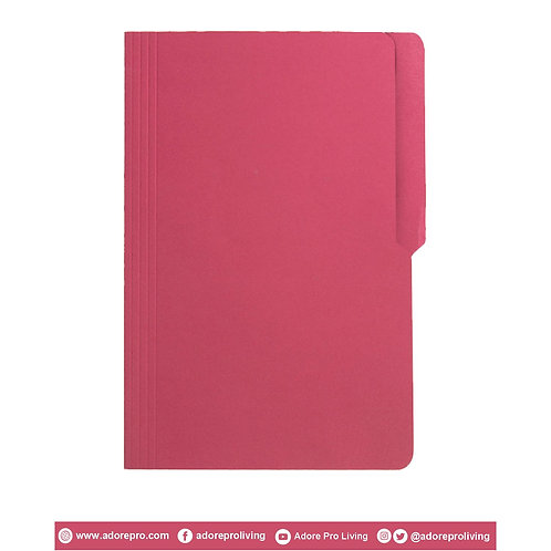 Colored Folder / 11 Pts / Legal / Pink