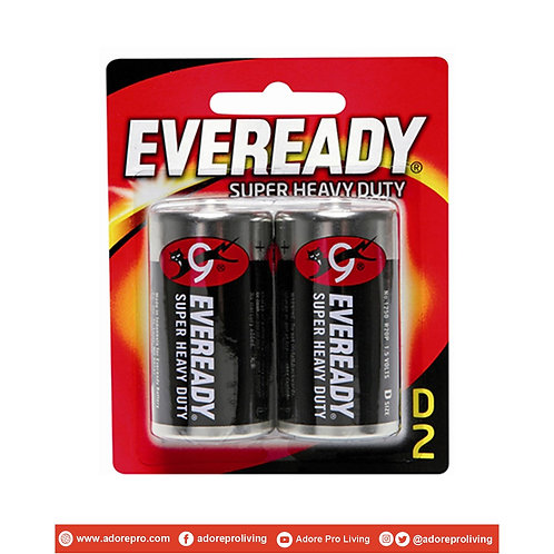 Eveready Super Heavy Duty Battery / D
