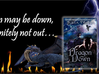 Here's Your Sneak Peek of DRAGON DOWN, Dragon #22 - Coming 8/1/17 as part of the Fire Kissed Box