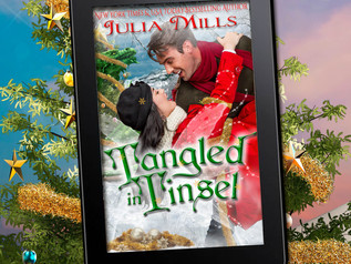 OOOHHHH EMMMM GEEEEEE! It's Here! It's REALLY Here!  TANGLED IN TINSEL is HERE!