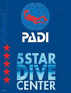 PADI 5 start center