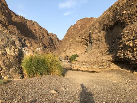 Absage Wadi Wanderung