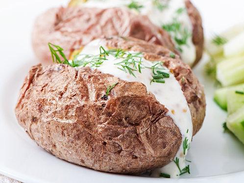 Ofenkartoffel Amerikanischer Art