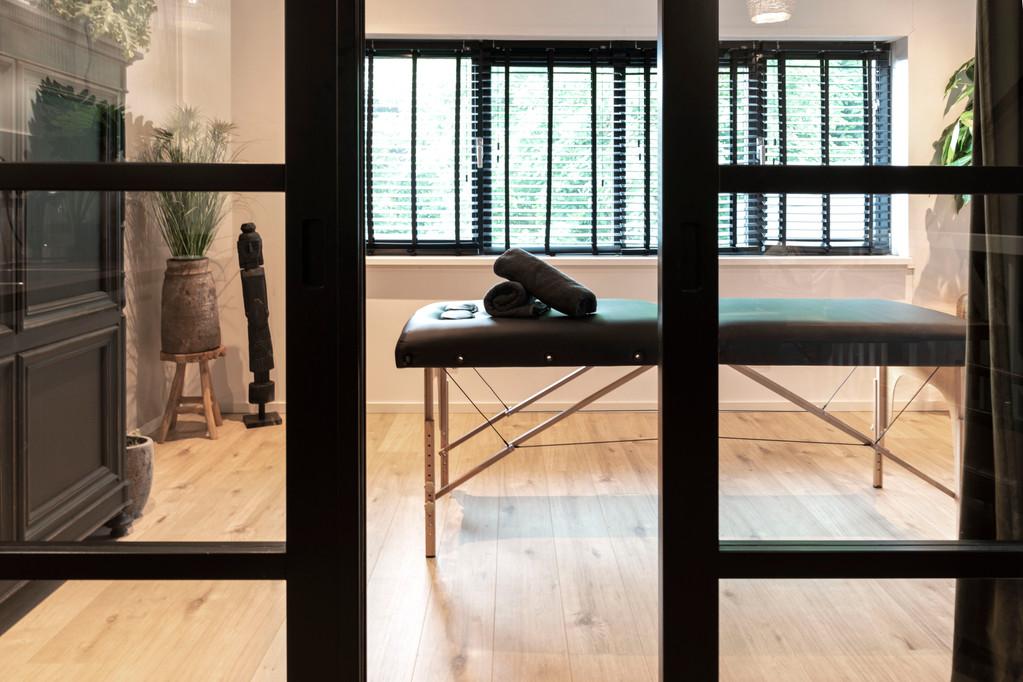 Bedrijfsfotografie personal training/ massageruimte