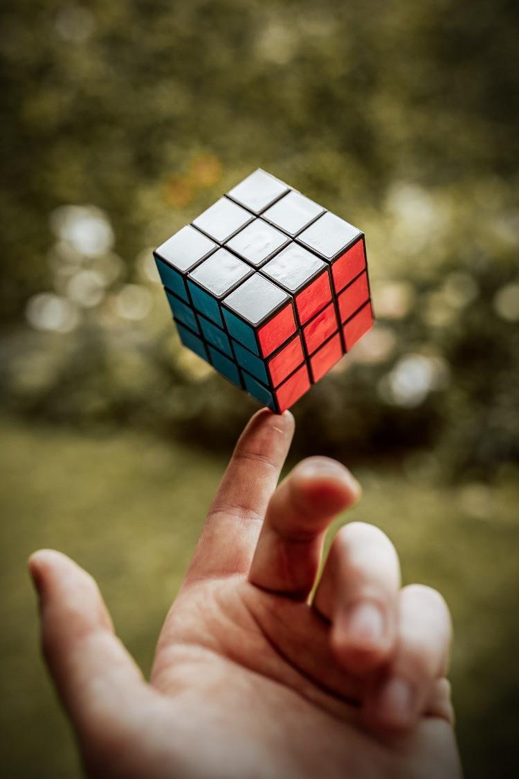 Cubo di Rubik.