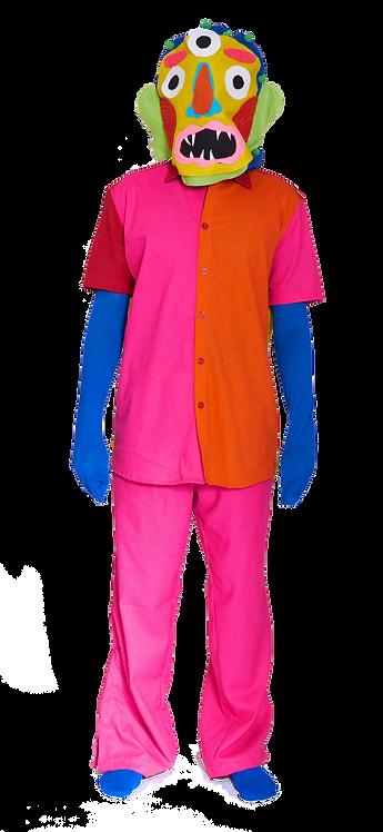 Camisa cores de menino