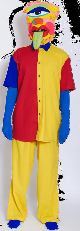 Camisa cores de menina