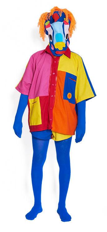 Camisa Morcega Colorida