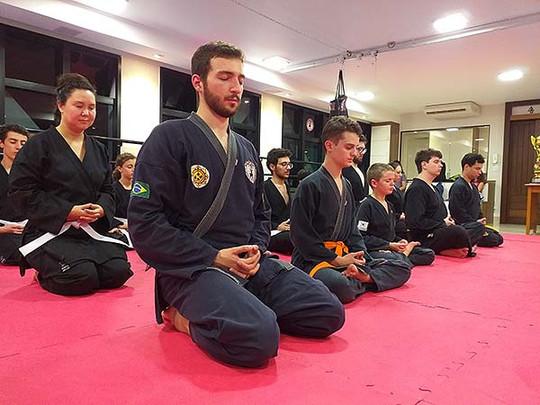 Meditação ao final do treino