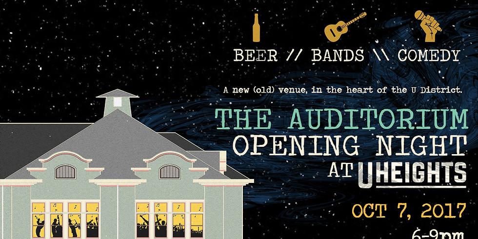 The Auditorium Opening Night