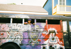 Iron Horse Bus, New Orleans, by Hope Magraff