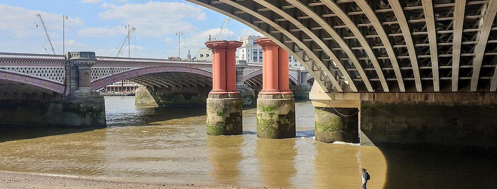 ORIGINAL PHOTO Thames Bridges by Michelle Allsup