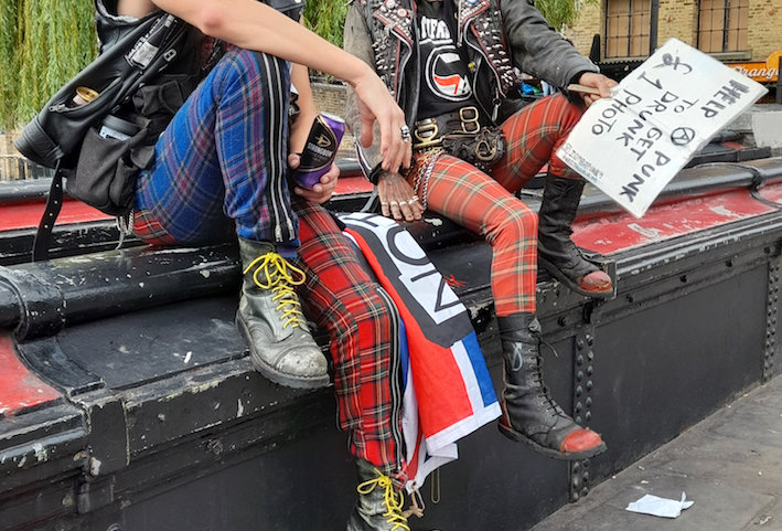 ORIGINAL PHOTO Punks by Michelle Goldberg
