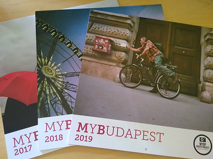 MyBudapest calendars