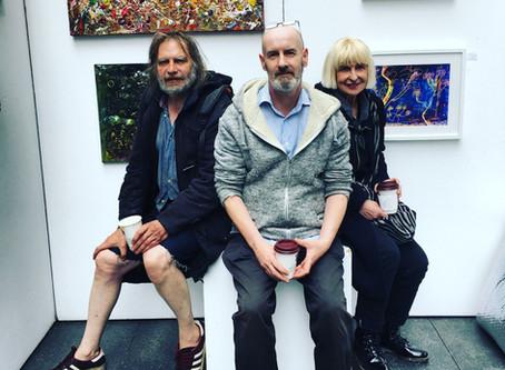 Cafe Art takes over Spitalfields Art Market!